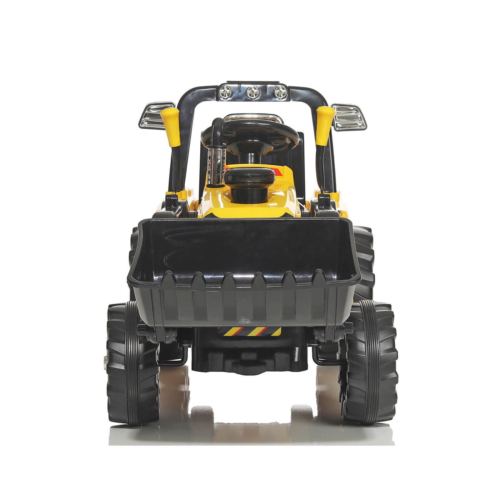 bagger traktor baggerlader elektro fahrzeuge f r. Black Bedroom Furniture Sets. Home Design Ideas