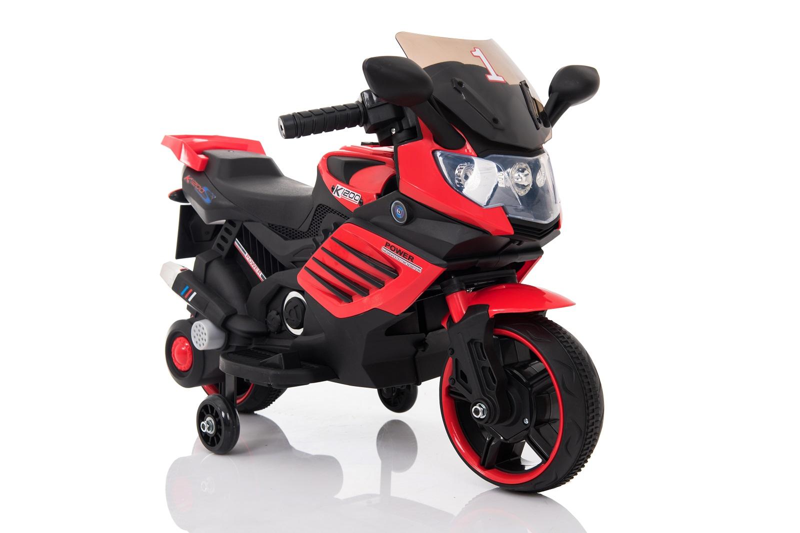 k1200 motorrad mit st tzr dern elektro fahrzeuge f r kinder elektro autos zum aufsitzen